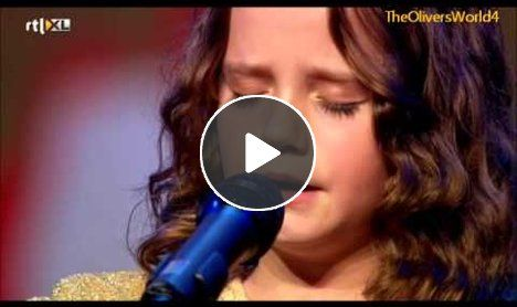 If you close your eyes, you would think this 9 year old was an experienced opera singer