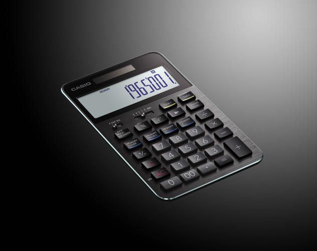 Casio's Latest Calculator Is The Best-Looking Number Cruncher Since Dieter Rams | Co.Design | business + design