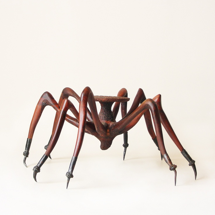 Tarantula Coffee Table... are you brave enough? I am not! I can