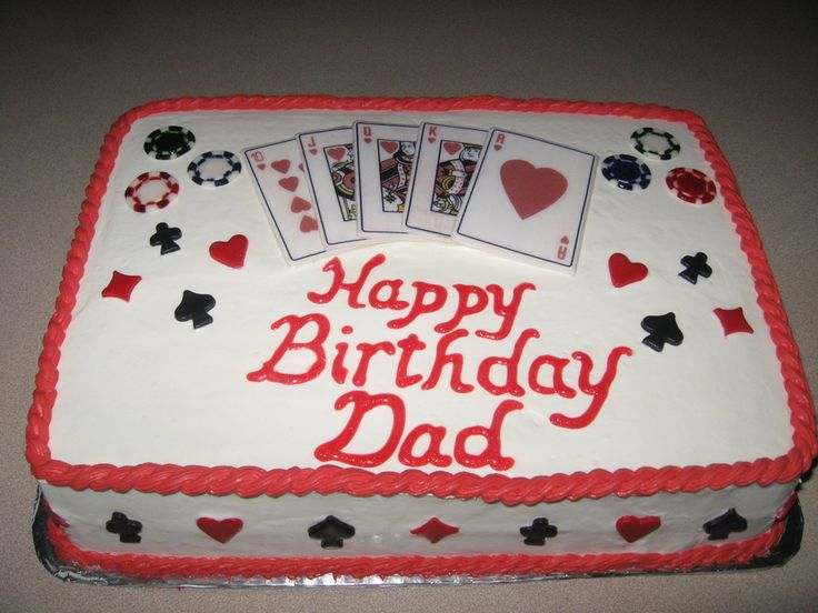 Cake Designs Playing Cards : 17 Best images about Gamblers Cake Ideas on Pinterest ...
