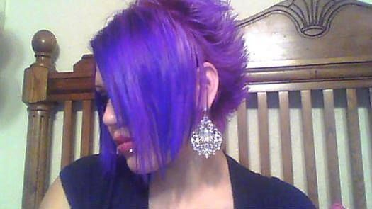 Splat Lusty Lavender Short behind the ears, long in front!!!