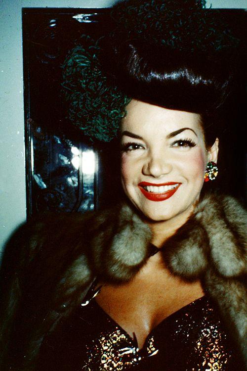 Carmen Miranda c. 1940s