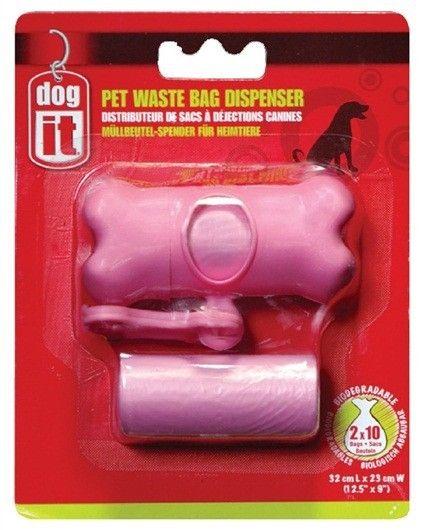 Recoge Desecho Bolsas DOGIT  - #FaunAnimal El dispensador de bolsas biodegradables es un elemento fundamental al salir a pasear a tu mascota.