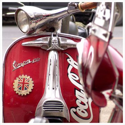 Coke scooter