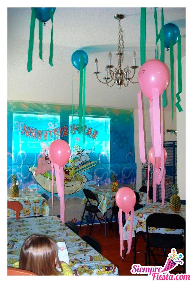 ideas para fiesta de cumplea os de bob esponja encuentra los mejores art culos para tu fiesta. Black Bedroom Furniture Sets. Home Design Ideas