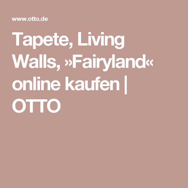 Tapete, Living Walls, »Fairyland« Living walls and Walls - graue wand und stein