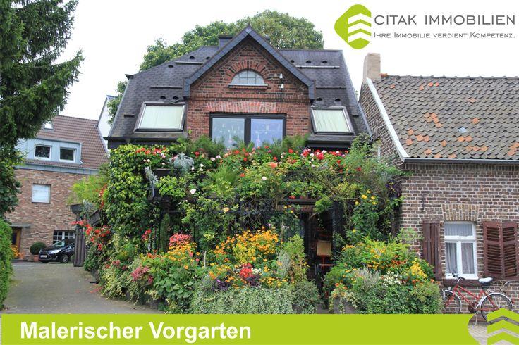 Köln-Fühlingen-malerischer Vorgarten