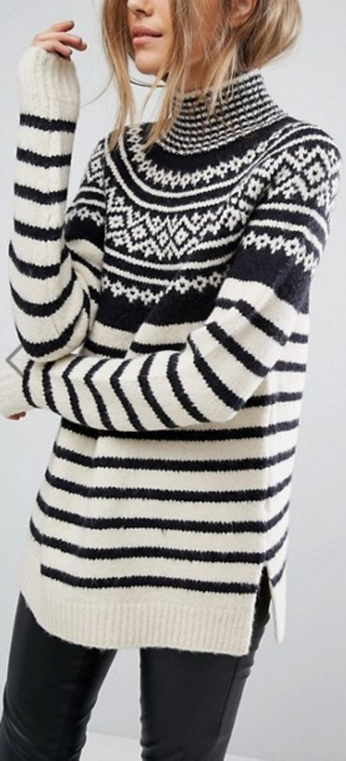 Norway knit sweater