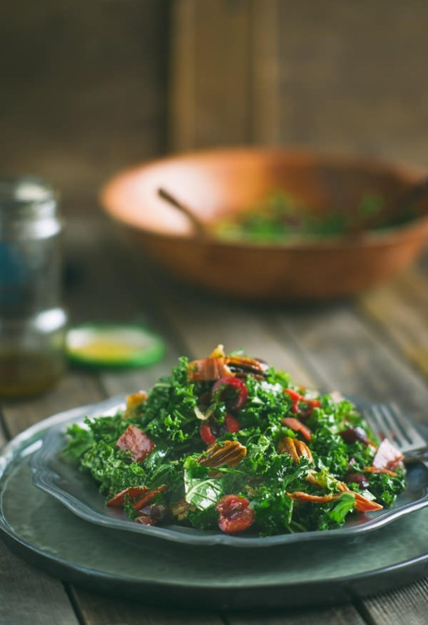 Kale Salad #kale #recipes
