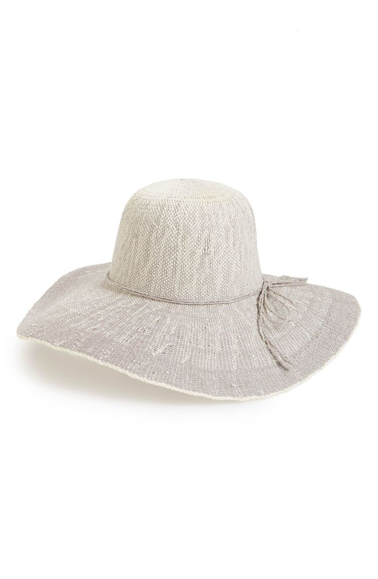 Might work.- FITS Ombré Floppy Straw Hat