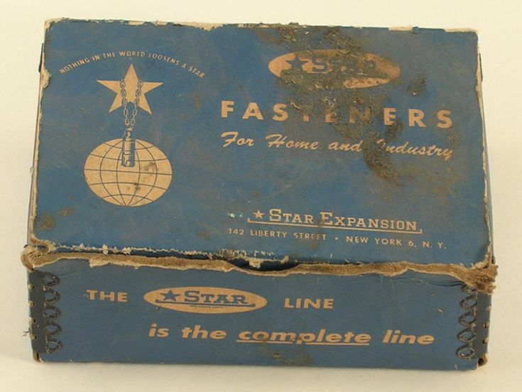 Star FastenersToggle Bolts 3 Inch a Package of 10 New Old Stock Box by JohnGermaine on Etsy