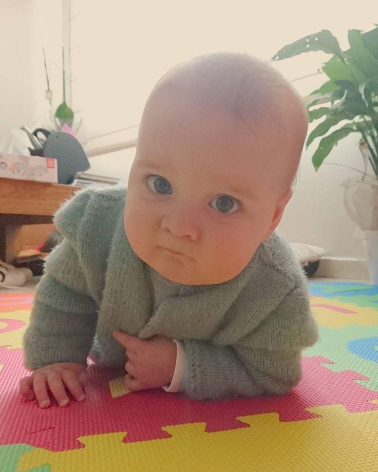 Miradas que matan   #bebé #baby #babyboy #mylove #maternidad #maternidade #maternity #cute #love #mylitleboy #mipequeño
