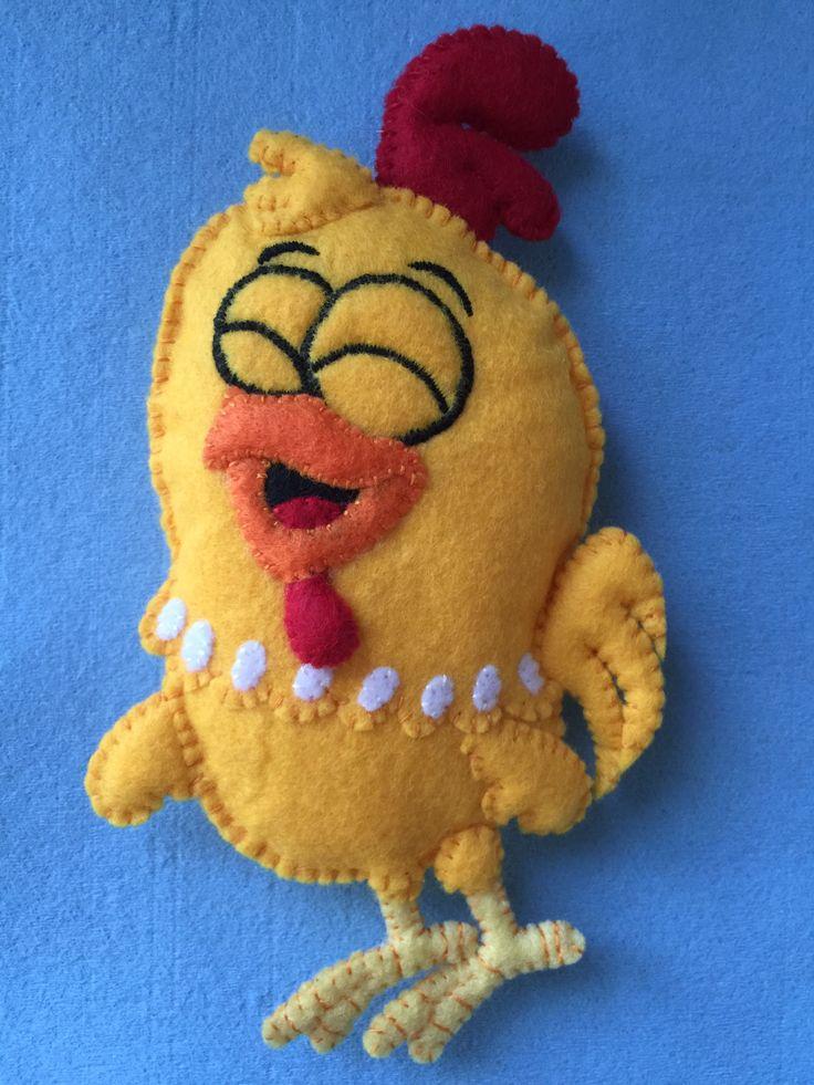 Lottie Dottie Chicken Quiriquiqui Little Cock (Hand-made with felt)