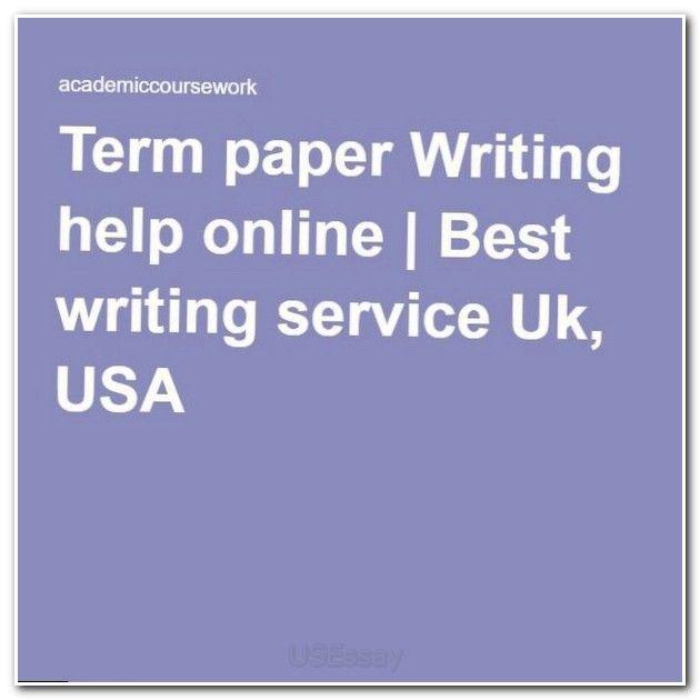 term paper formats