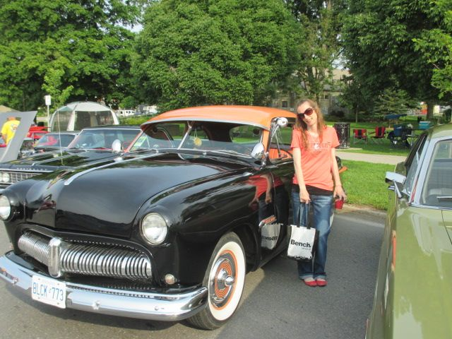 Classic Car Show in Lindsay Ontario July 12th 2015