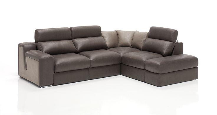 #sofa rinconera Sol con asientos extraíbles.