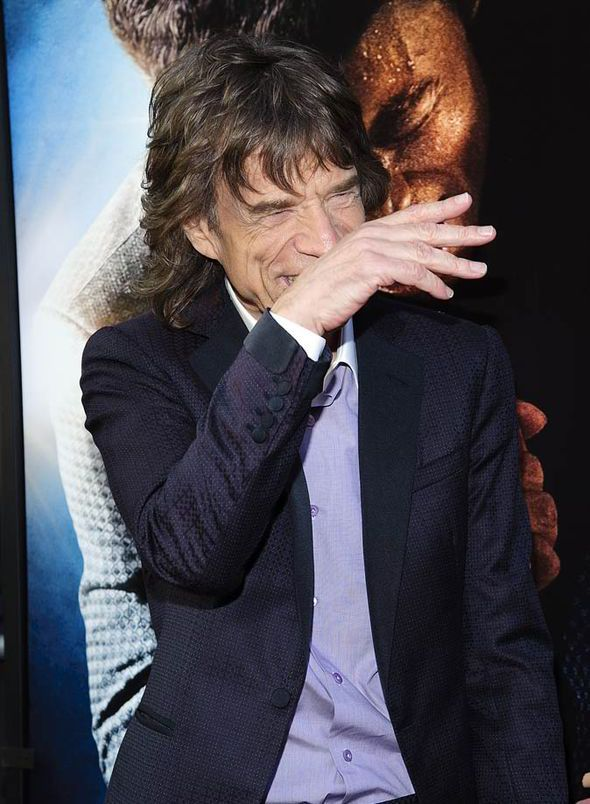 A chip off the old block! Mick Jagger supported by youngest son Lucas at movie…