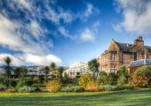 An overnight stay with a glass of prosecco make the Auchrannie Resort a perfect stop for a Spa Break in Scotland