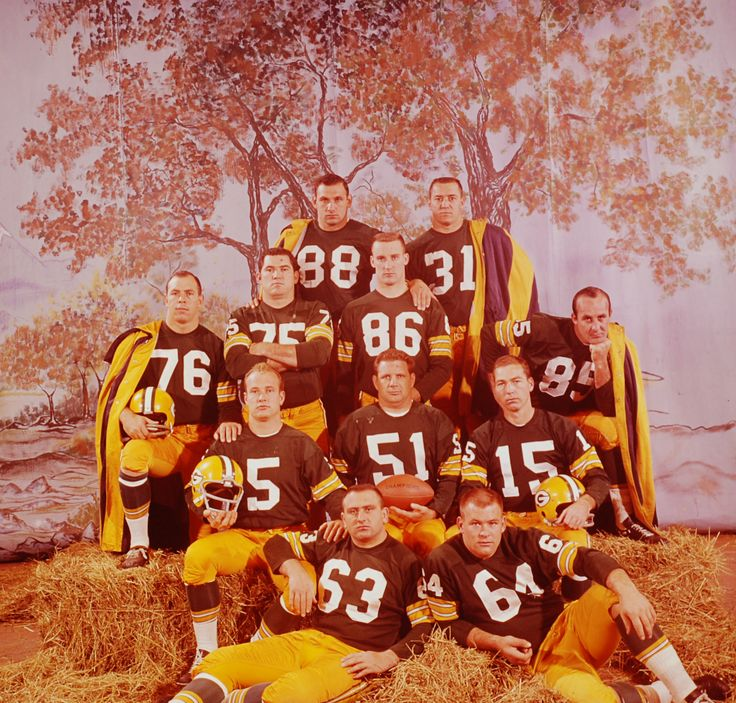 August 20, 1920: The NFL is born. Pictured: The 1962 Green Bay Packers by LIFE's George Silk.