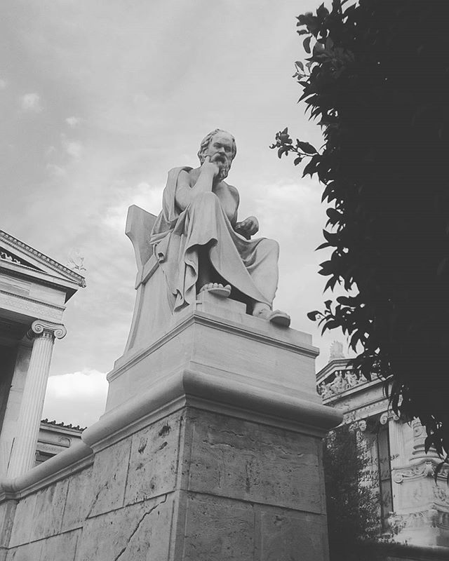 Socrates the Greek philosopher #philosophy #athens #athinology #thegreeceguide #greeksabroad #instagreece #socrates #portalgreece