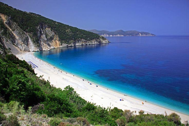 Myrtos Beach, Griechenland