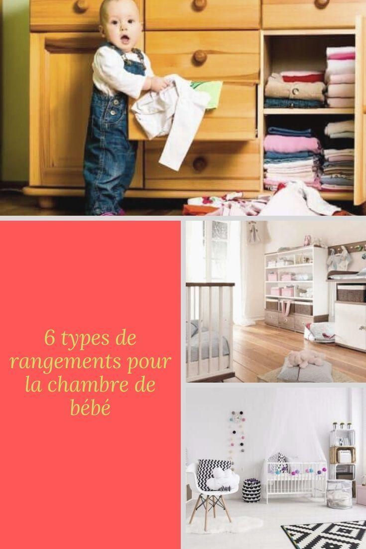 6 Types De Rangements Pour La Chambre De Bebe Rangement Bebe
