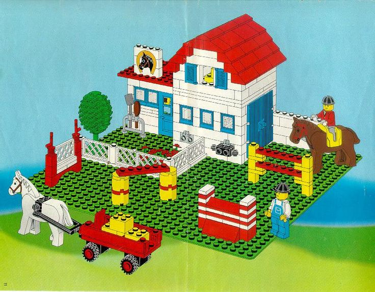 Amazing site with free instructions to a tonne of Lego sets from 1966 to today!