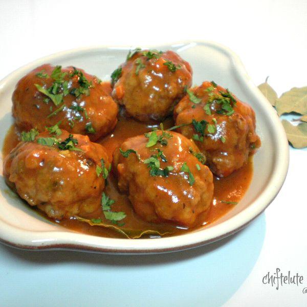 Chiftelute marinate