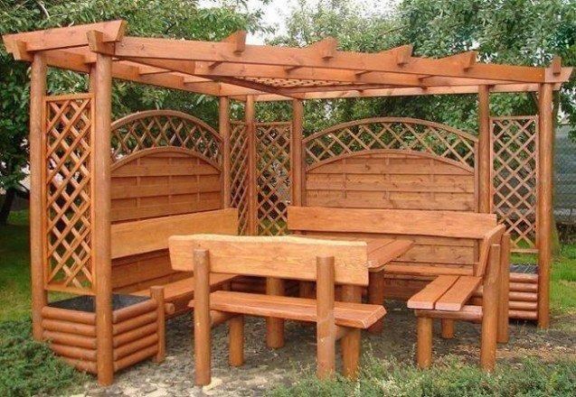 Декоративные садовые перголы, арки!