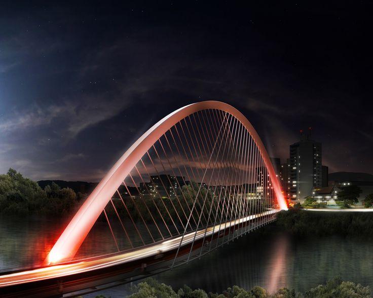 Galeria de 1° Lugar no Concurso Nacional de Arquitetura Ponte e Passarela em Blumenau / Estudio America - 17