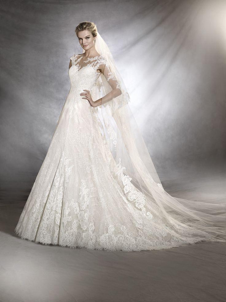 85 besten PRONOVIAS 2017 Bilder auf Pinterest | Hochzeitskleider ...