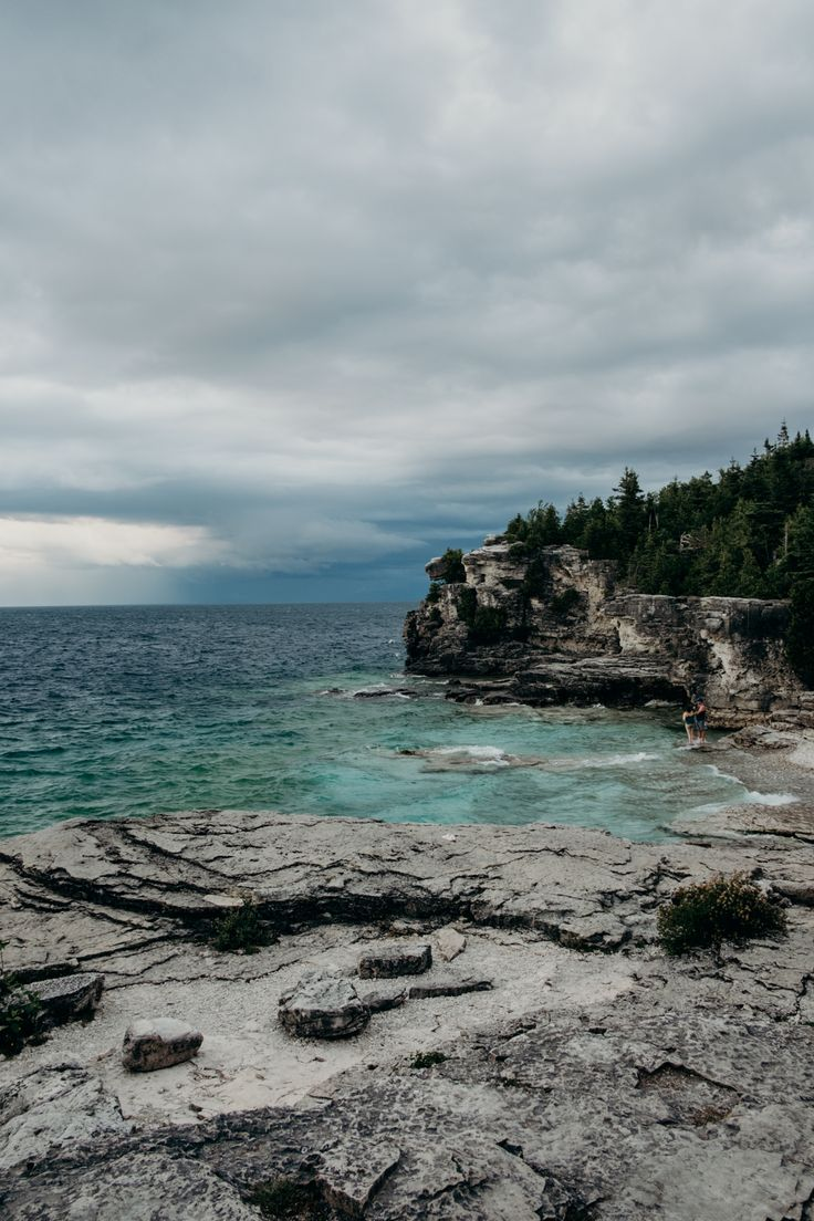 The Grotto - Tobermory Ontario Canada in the Summer