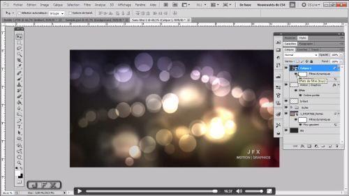 Tutoriel Photoshop gratuit : créer un effet de Bokeh en arrière-plan
