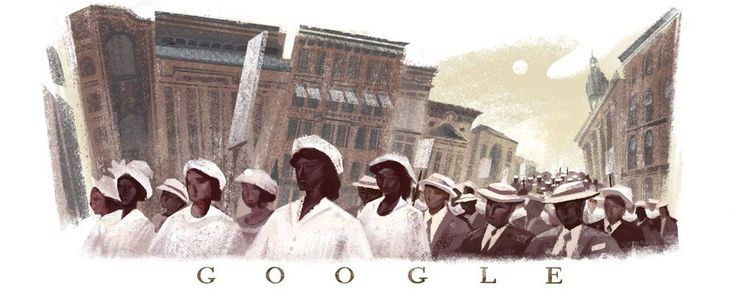 Today's Google Doodle Depicts A Defining Moment In African American History+#refinery29