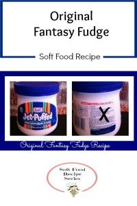 "Enjoy the ""Original"" Fantasy Fudge recipe - not the imitation!"