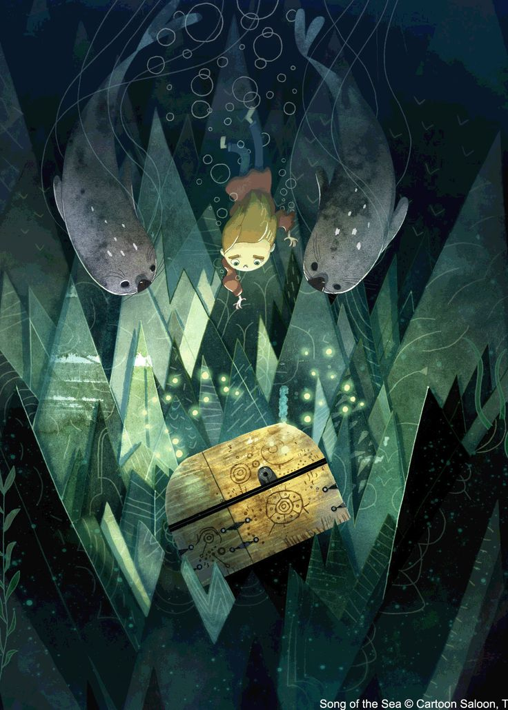 song of the sea: a very very beautiful animated movie