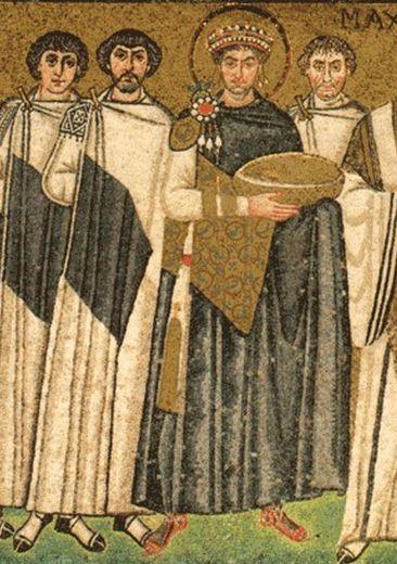 Paludamentum And Tablion Byzantine Ad330 Ad1453