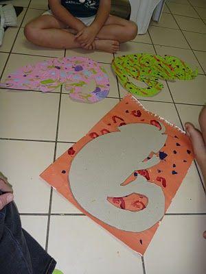 Eric Carle Inspired - Chameleon Craft