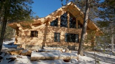 Nate Heim and his dependable crew of craftsmen at Heim Log Homes have important marching orders...check out Cabin fever on Tuesday nights and see how they use Sashco products.