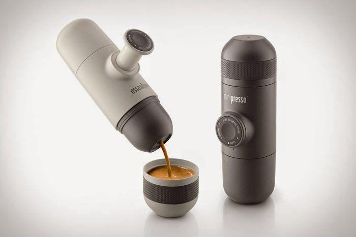 Minipresso - The Portable Espresso Maker (Video)