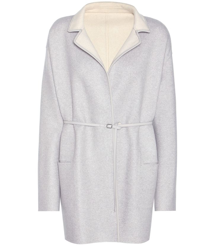 grauer und cremefarbener wendbarer cashmere mantel jimi - Mantel Der Ideen Mit Uhr Verziert