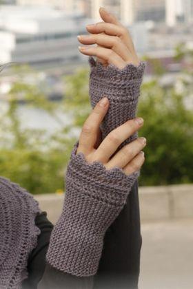 Strikke-opskrift   Strik flotte pulsvanter fra Familie Journal   Lunt tilbehør til kolde dage