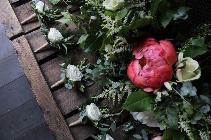 Buttonholes www.theflowermilldraycott.co.uk