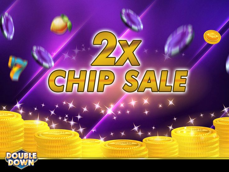 (EXPIRED) It's time to Double Down!! Get twice the chips when you buy in today's Chip Sale. And grab 150,000 FREE Chips when you tap the Pinned Link (or use code DRTVGQ)