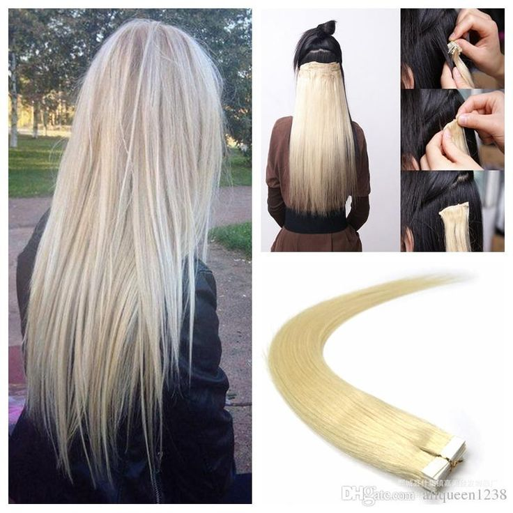 25 unique tape hair extensions ideas on pinterest braid in hair 100g tape in human hair extensions 18 20 22 24inch 613 beach blonde color adhesive skin wefts pu tape hair tape in human hair extensions tape in extensions pmusecretfo Gallery