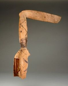 VMFA Dogon culture Mask with Angled Crest