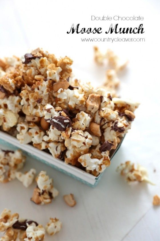 Double Chocolate Moose Munch - www.countrycleaver.com