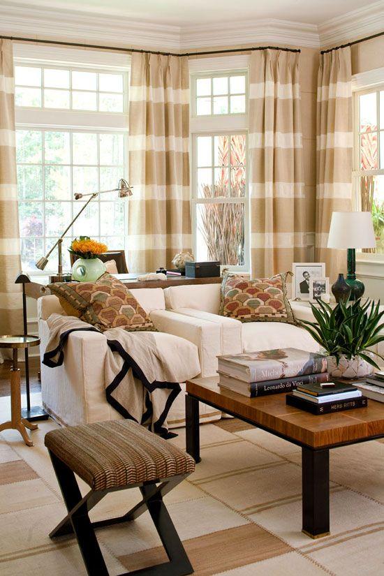 Best 25 Striped Curtains Ideas On Pinterest Horizontal