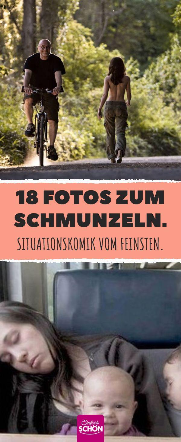 18 Fotos zum Schmunzeln. Situationskomik vom Feinsten. #humor
