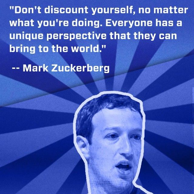 You go Mark Zuckeberg!